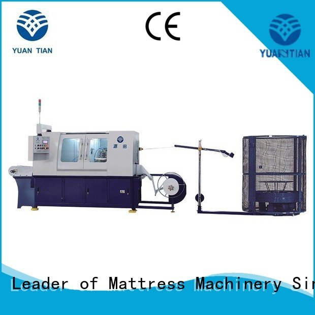 Automatic Pocket Spring Machine machine high coiler pocketspring YUANTIAN Mattress Machines