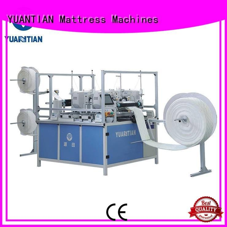 YUANTIAN Mattress Machines Brand heads needle quilting machine for mattress price multineedle side