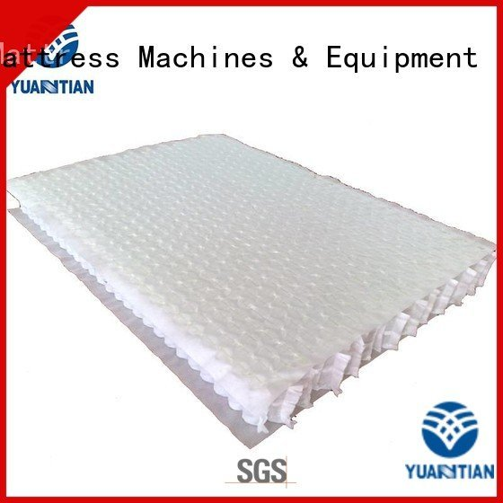 mattress spring unit top with YUANTIAN Mattress Machines Brand