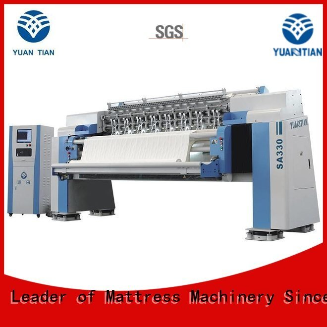 quilting machine for mattress price stitching YUANTIAN Mattress Machines Brand quilting machine for mattress