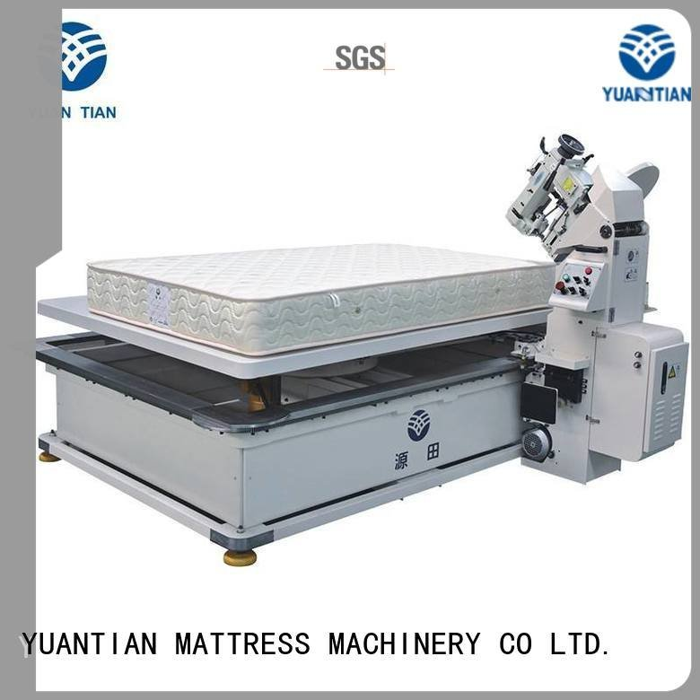 mattress tape edge machine table top mattress tape edge machine YUANTIAN Mattress Machines Warranty