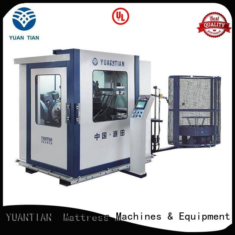 YUANTIAN Mattress Machines Brand line bonnell spring Automatic Bonnell Spring Coiling Machine automatic