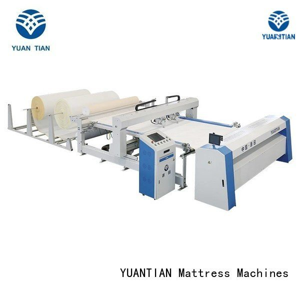 heads singleneedle single YUANTIAN Mattress Machines quilting machine for mattress price
