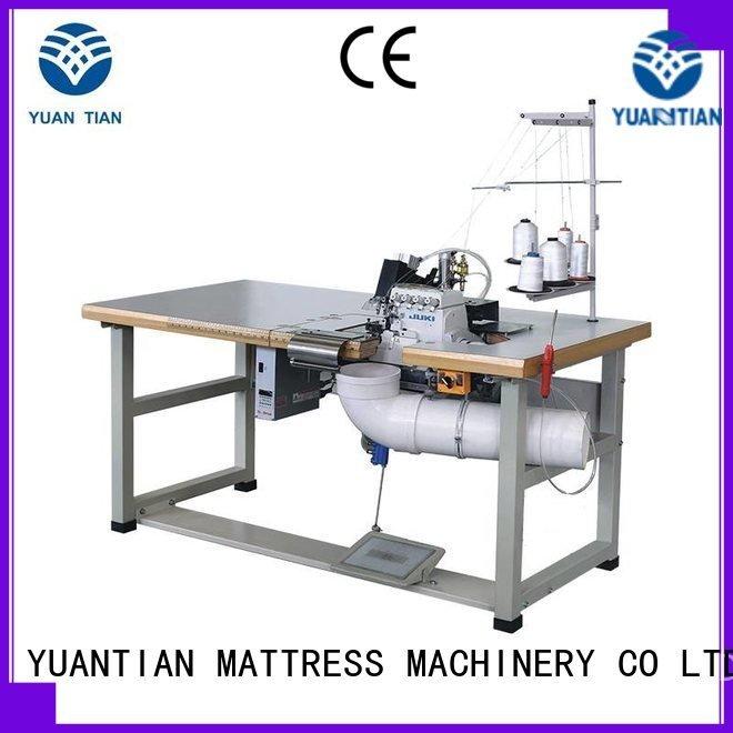 heavyduty Mattress Flanging Machine YUANTIAN Mattress Machines Double Sewing Heads Flanging Machine