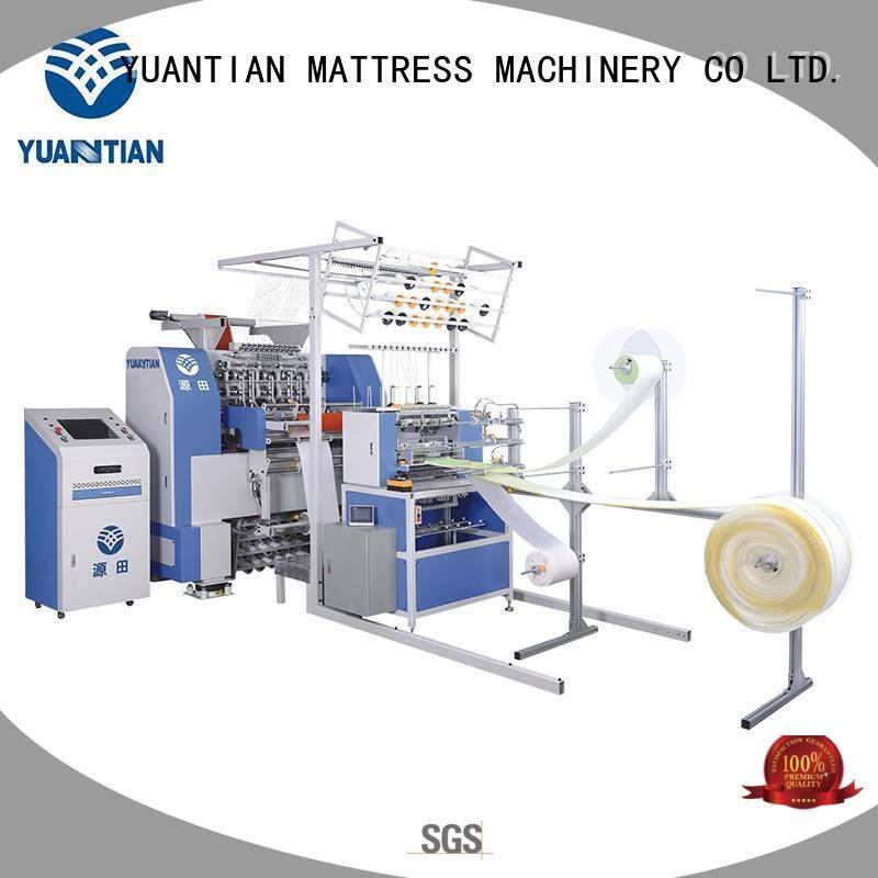 quilting machine for mattress price double border YUANTIAN Mattress Machines Brand