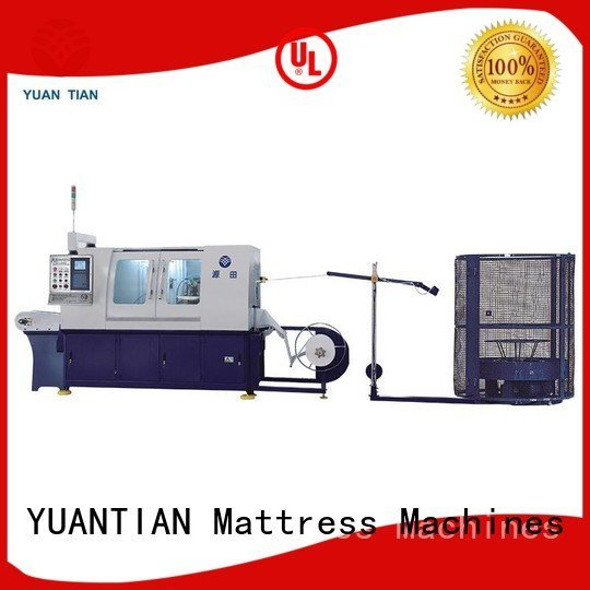 Automatic Pocket Spring Machine pocket machine speed coiling YUANTIAN Mattress Machines