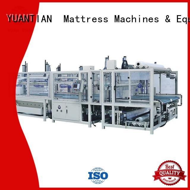 Hot unpressing foam mattress making machine machine YUANTIAN Mattress Machines Brand