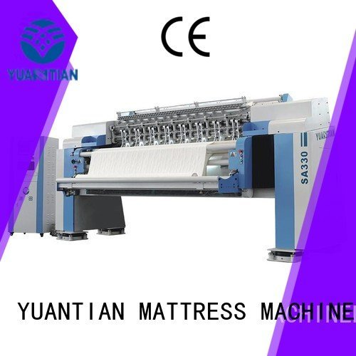 Hot quilting machine for mattress price sa330 quilting machine for mattress heads YUANTIAN Mattress Machines