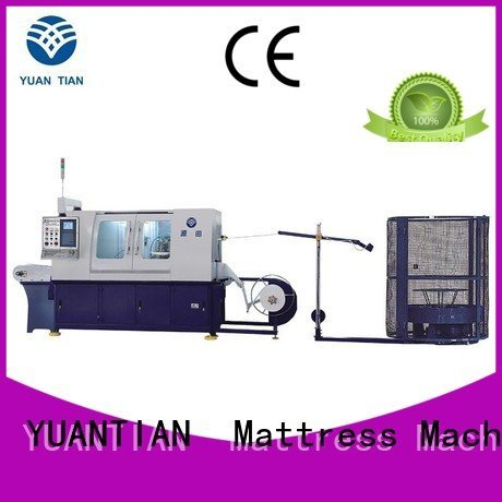 dn6 line dzg1a YUANTIAN Mattress Machines Automatic Pocket Spring Machine