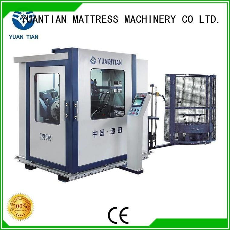 production automatic YUANTIAN Mattress Machines bonnell spring machine