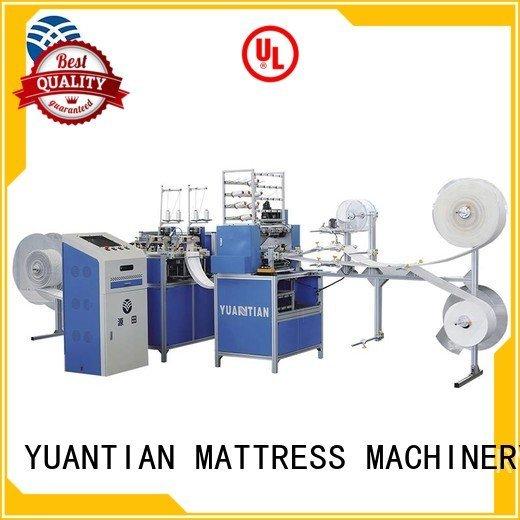 double quilting machine for mattress border heads YUANTIAN Mattress Machines