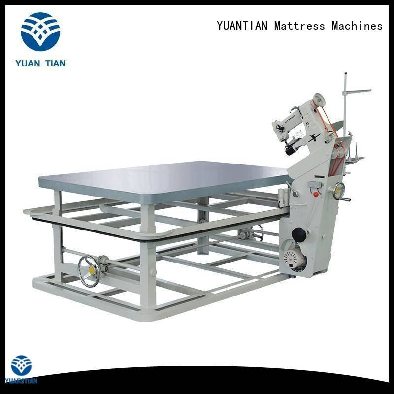 mattress tape edge machine wb1 machine OEM mattress tape edge machine YUANTIAN Mattress Machines