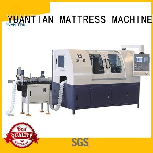 YUANTIAN Mattress Machines Brand speed coiler coiling Automatic Pocket Spring Machine