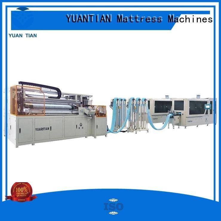 YUANTIAN Mattress Machines Automatic Pocket Spring Machine line dzg6 pocketspring