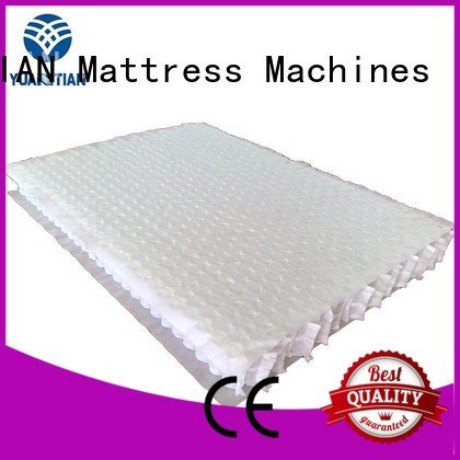 zoned spring mattress spring unit with YUANTIAN Mattress Machines