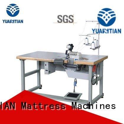 YUANTIAN Mattress Machines Brand heads ds5c flanging Mattress Flanging Machine