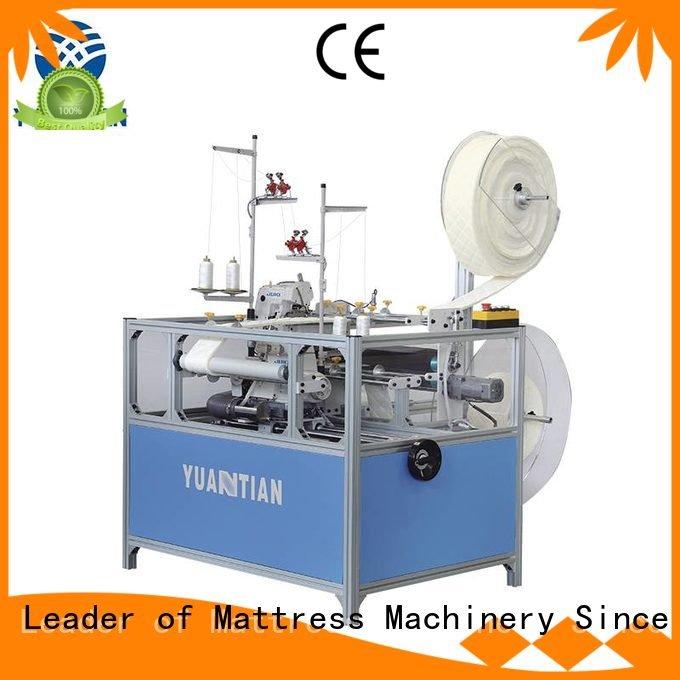 Custom Mattress Flanging Machine machine mattress heads YUANTIAN Mattress Machines