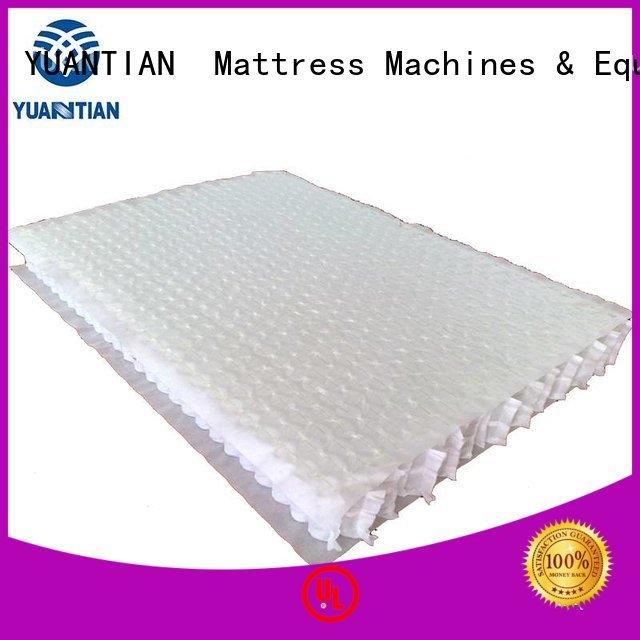 Hot mattress spring unit top bottom nested YUANTIAN Mattress Machines Brand