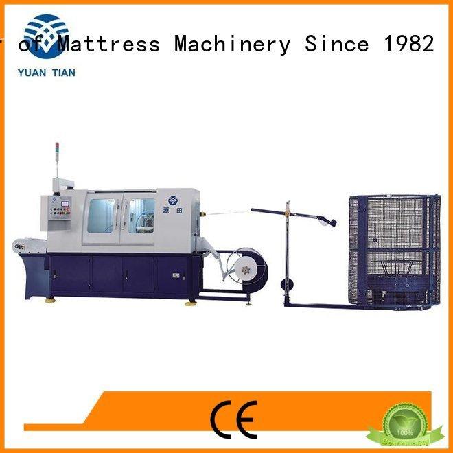 YUANTIAN Mattress Machines Brand pocket Automatic Pocket Spring Machine line pocketspring