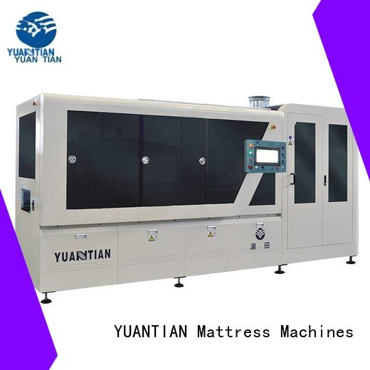 spring dzg1 automatic YUANTIAN Mattress Machines Automatic High Speed Pocket Spring Machine