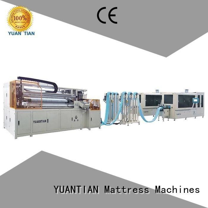 assembling spring YUANTIAN Mattress Machines Automatic High Speed Pocket Spring Machine