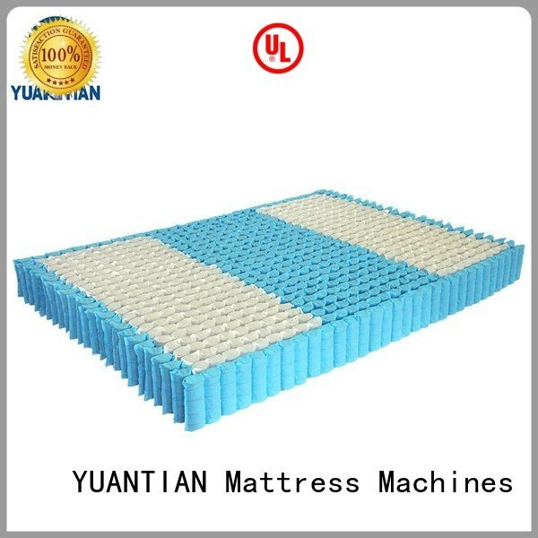 mattress spring unit with pocket nonwoven covers