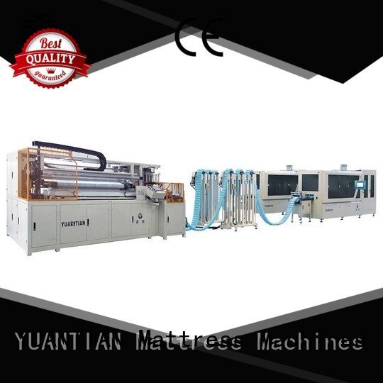 production dtdx012 YUANTIAN Mattress Machines Automatic Pocket Spring Machine