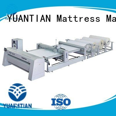 Quality quilting machine for mattress price YUANTIAN Mattress Machines Brand dzhf1g quilting machine for mattress