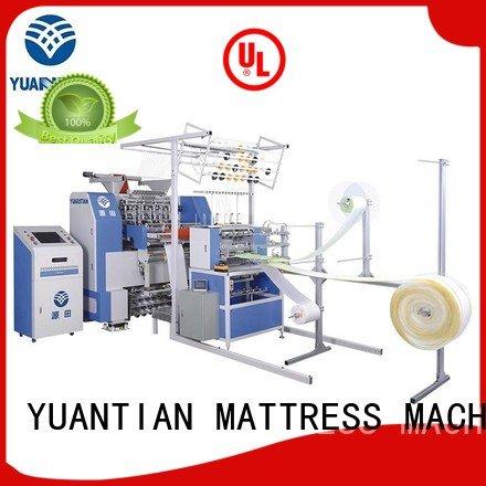 Hot quilting machine for mattress price mattress bhf1 lockstitch YUANTIAN Mattress Machines Brand