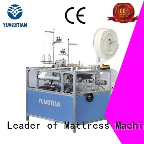 mattress double flanging heavyduty heads YUANTIAN Mattress Machines Mattress Flanging Machine