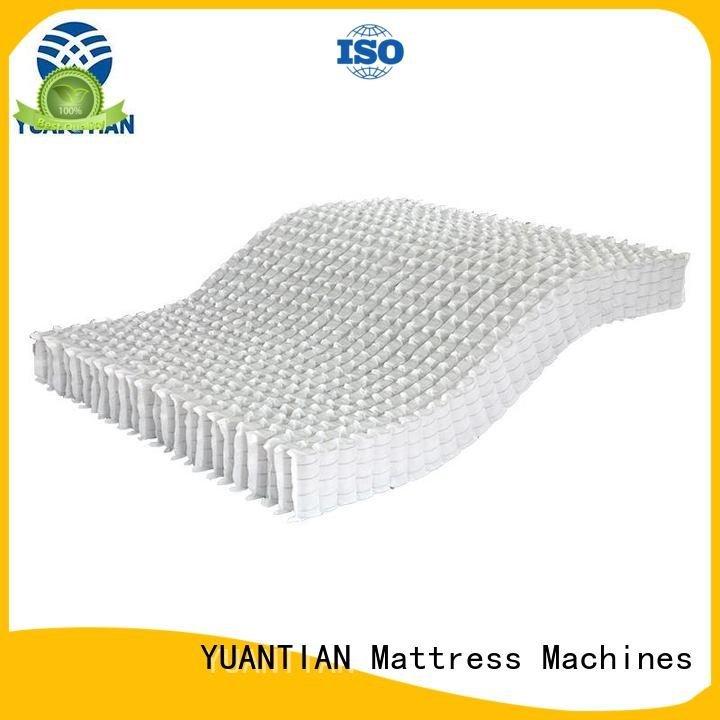 YUANTIAN Mattress Machines Brand bottom pocket mattress spring unit unit spring