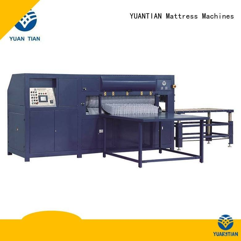 YUANTIAN Mattress Machines bending border bz3 foam mattress making machine automatic