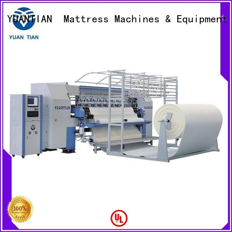 multineedle quilting wbsh3 quilting machine for mattress YUANTIAN Mattress Machines