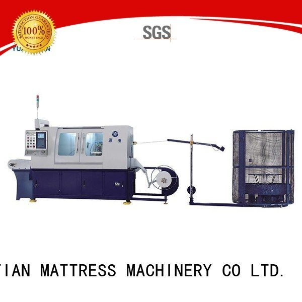 YUANTIAN Mattress Machines Brand pocket machine assembler Automatic High Speed Pocket Spring Machine coiling