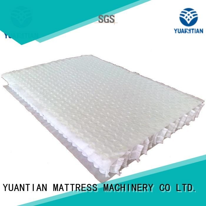 Hot mattress spring unit pocket with unit YUANTIAN Mattress Machines Brand