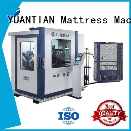 bonnell spring machine production spring machine YUANTIAN Mattress Machines Brand Automatic Bonnell Spring Coiling Machine