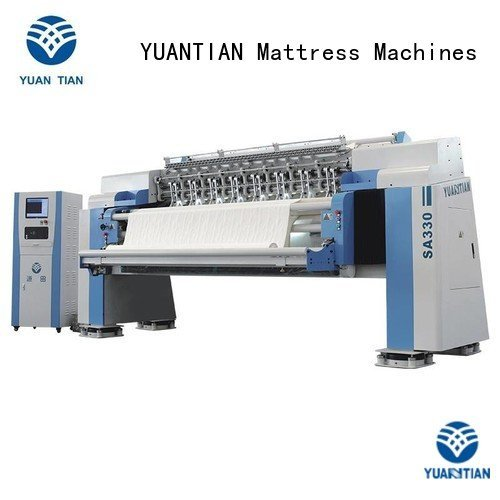 Quality quilting machine for mattress price YUANTIAN Mattress Machines Brand wbsh3 quilting machine for mattress