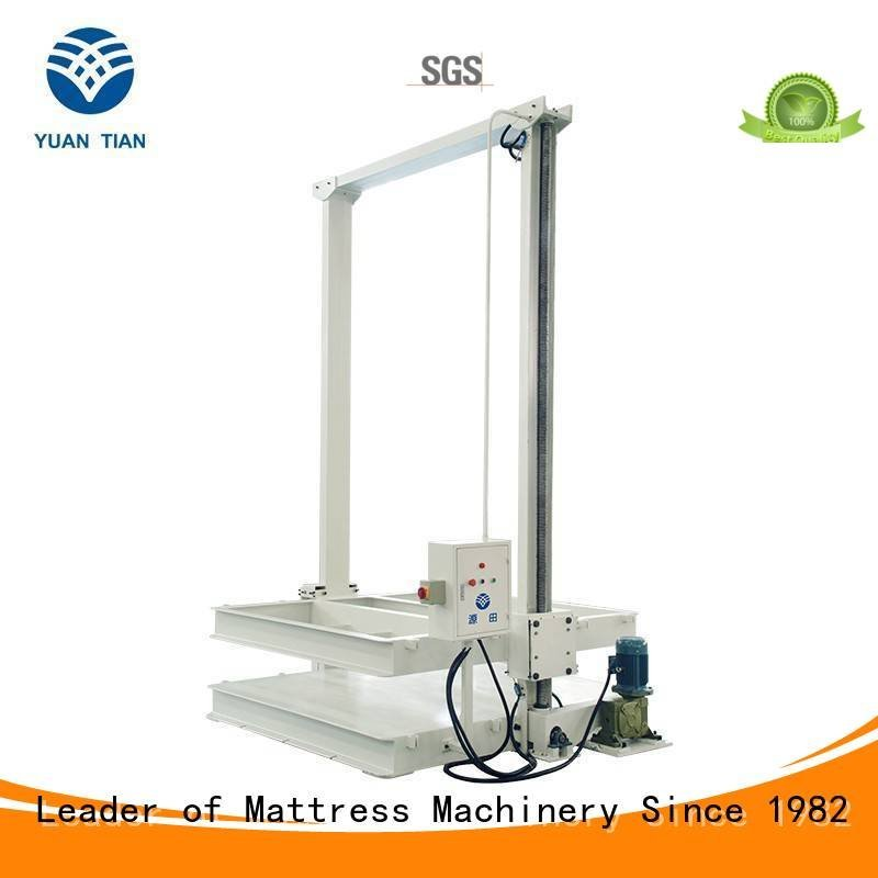 foam mattress making machine packing YUANTIAN Mattress Machines Brand mattress packing machine