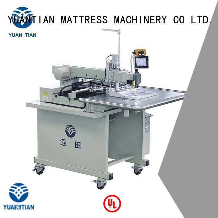 sewing border label YUANTIAN Mattress Machines Mattress Sewing Machine