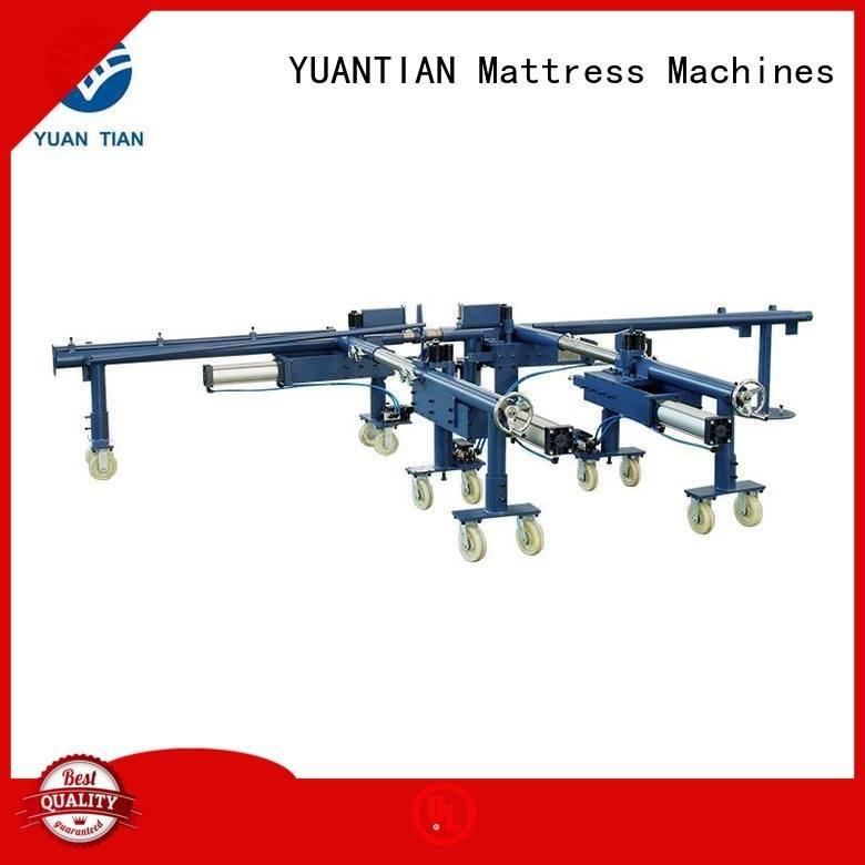YUANTIAN Mattress Machines foam mattress making machine straightening automatic packing pneumatic