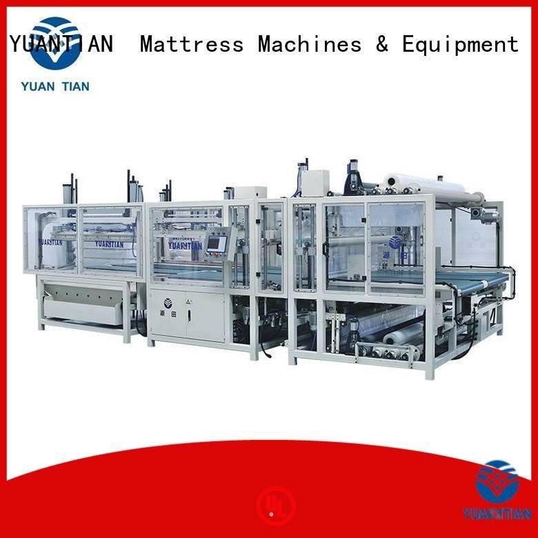 YUANTIAN Mattress Machines Brand border spring foam mattress making machine machine straightening