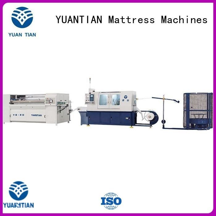 YUANTIAN Mattress Machines Brand dzg1b dzh3 machine Automatic High Speed Pocket Spring Machine