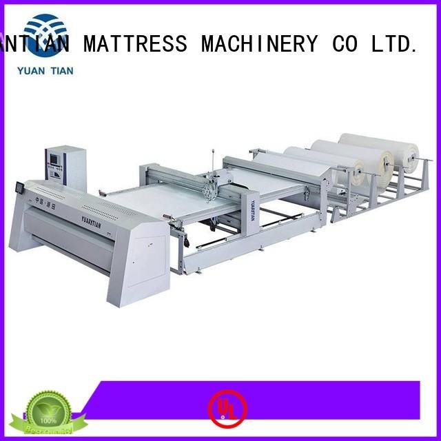 YUANTIAN Mattress Machines Brand lockstitch double quilting machine for mattress singleneedle factory
