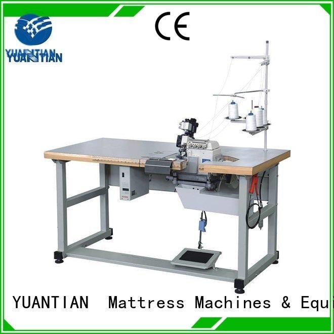 sewing mattress flanging heavyduty YUANTIAN Mattress Machines Double Sewing Heads Flanging Machine