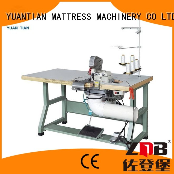 Hot mattress Double Sewing Heads Flanging Machine double YUANTIAN Mattress Machines Brand