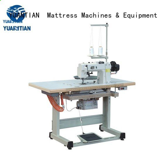 YUANTIAN Mattress Machines Brand edge mattress tape edge machine table mattress