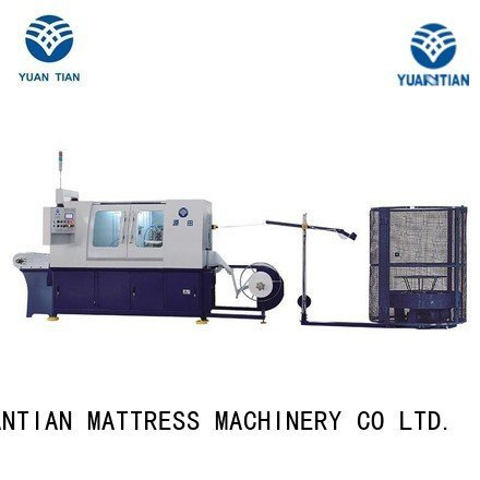 Pocket spring coiling machine dzh3 production high pocketspring YUANTIAN Mattress Machines