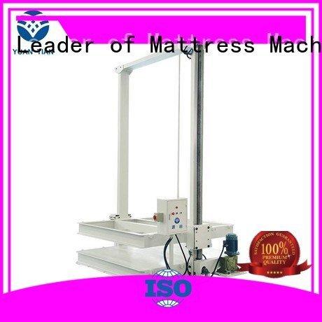 YUANTIAN Mattress Machines Brand bending foam mattress making machine spring machine
