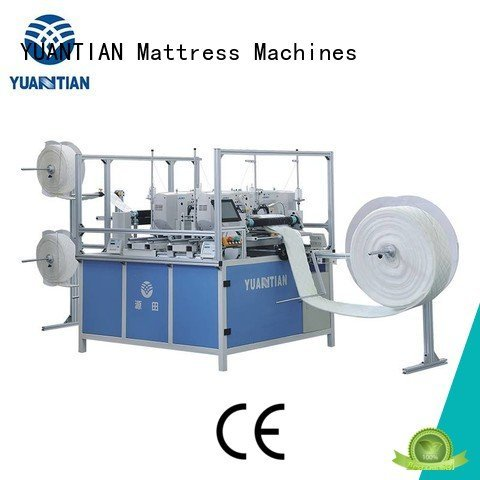 YUANTIAN Mattress Machines singleneedle double stitching quilting machine for mattress price heads