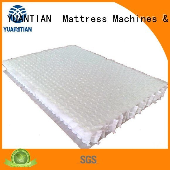 YUANTIAN Mattress Machines mattress spring unit zoned covers top unit